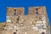 Wall of Convento de Christo Monastery, Tomar, Portugal — Stock Photo
