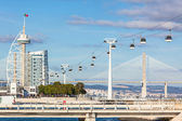 Expo district, Lisbon, Portugal — Stock Photo