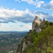 Castle in San Marino - La Cesta or Fratta, Seconda Torre - Stock Photo