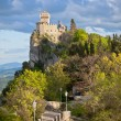 Castle in San Marino - La Cesta or Fratta, Seconda Torre — Stock Photo