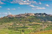 Montepulciano town view, Tuscany, Italy — Stock Photo