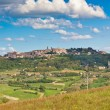 Montepulciano town view, Tuscany, Italy - Stock Photo