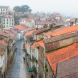Looking down onto the Rainy Street of Old Town — Stock Photo #22411043