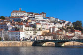 Coimbra, Portugal, Old City View. Sunny Blue Sky — Stock Photo