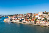 Overview of Old Town of Porto, Portugal — Stock Photo