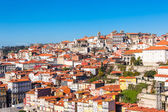 Overview of Old Town of Porto, Portugal. — Stock Photo