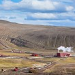 Geothermal Power Station in Iceland at Summer Sunny Day — Stockfoto