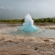 Iceland: Strokkur Geyser Eruption — Foto Stock