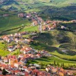 Modern San Marino Suburban districts view from above — Stock Photo