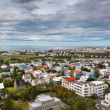 Capital of Iceland, Reykjavik, view — Stock Photo