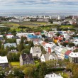 Capital of Iceland, Reykjavik, view — Stok fotoğraf