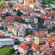 Stock Photo: Modern SMarino Suburbdistricts view from above