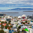 Capital of Iceland, Reykjavik, view — Stock Photo #23464994