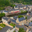 Dinan, Brittany, France - Ancient town on the river — Stock Photo