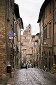 Street of Old Urbino, Italy at Dull Day — Stock Photo