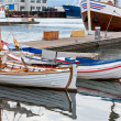 Typical Iceland Harbor with Fishing Boats — Stock Photo #23814471