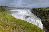 Gullfoss Waterfall, southern part of Iceland — Stock Photo