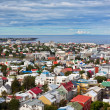 Stock Photo: Capital of Iceland, Reykjavik, view
