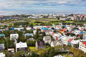 Capital of Iceland, Reykjavik, view — Photo