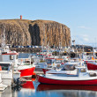 The town of Stykkisholmur, Snaefellsnes peninsula, Iceland — Stock Photo