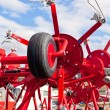 neue Heu Raker Farm Equipment detail — Lizenzfreies Foto