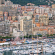 Monaco Harbour, Monte Carlo, view. - Stock Photo