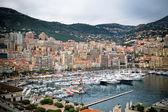 Monaco Harbour, Monte Carlo, view — Stock Photo