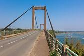 Oude betonnen brug in rural france — Stockfoto