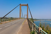 Old Concrete Bridge at Rural France — Stock Photo