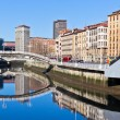 Bilbao, Basque Country, Spain cityscape — Stock Photo #25755475