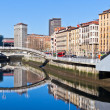 Bilbao, Basque Country, Spain cityscape — Stock Photo
