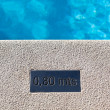 Outdoor Swimming pool detail — Stock Photo #26170317