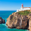 Stock Photo: Lighthouse of Cabo Sao Vicente, Sagres, Portugal