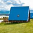 Typical Holiday House at North Iceland — Stock Photo #35343813