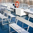 Passenger's Recreational Boat Deck — Foto de stock #35417167