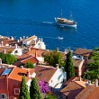 Aerial View from Rovinj Belfry, Croatia — Stock Photo
