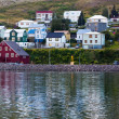 The town of Siglufjordur, the Northern part of Iceland — Stock Photo #36565475