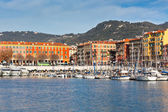 View on Port of Nice, French Riviera, France — Stock Photo