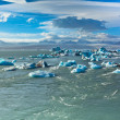 Jokulsarlon Glacier Lagoon in Vatnajokull National Park, Iceland — Stock Photo #38791693