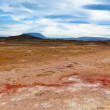 Desert at Geothermal AreHverir, Iceland — Stock Photo #40420975