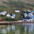 The town of Siglufjordur, the Northern part of Iceland — Stock Photo #40960413