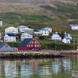 The town of Siglufjordur, the Northern part of Iceland — Stock Photo #40960451