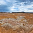 Stone Desert at Geothermal Area Hverir, Iceland — Stock Photo #41114897