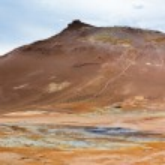 Geothermal Area Hverir, Iceland — Stock Photo