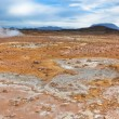 Stone Desert at Geothermal AreHverir, Iceland — Stock Photo #41540195