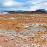 Stone Desert at Geothermal Area Hverir, Iceland — Stock Photo