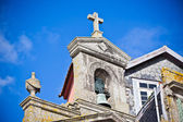Pedra da igreja detalhe, porto, portugal — Foto Stock