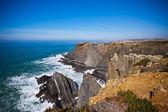 Západní pobřeží oceánu portugalsko — Stock fotografie