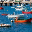 Stock Photo: Old Pier with Boats at Sagres, Portugal