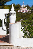 Unrecognizable Part of Residential House at Algarve, Portugal — Stock Photo